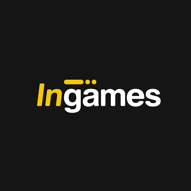 Айдентика агентства интерактивных развлечений Ingames