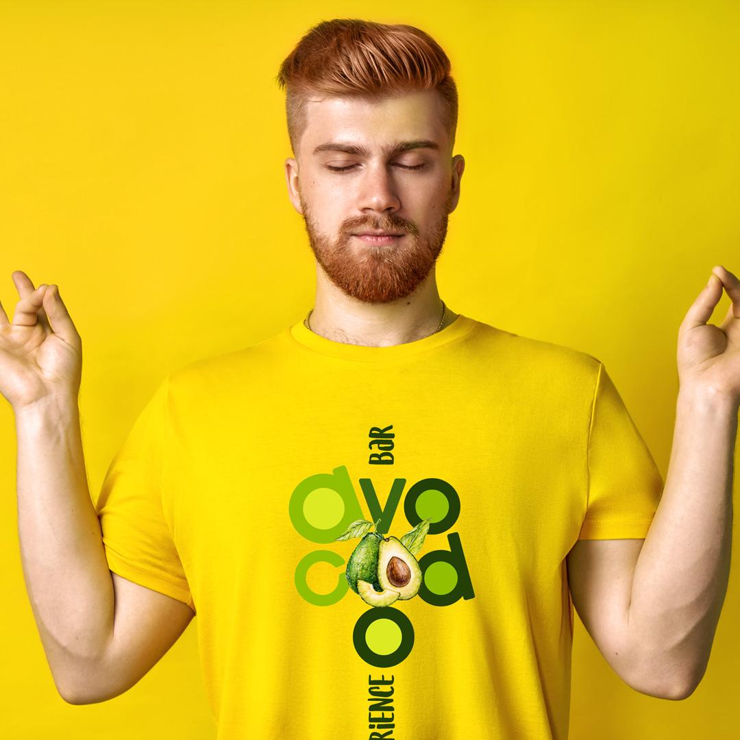 Яркая и динамичная айдентика Avocado